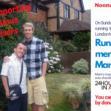 Running for Mark on October 4th